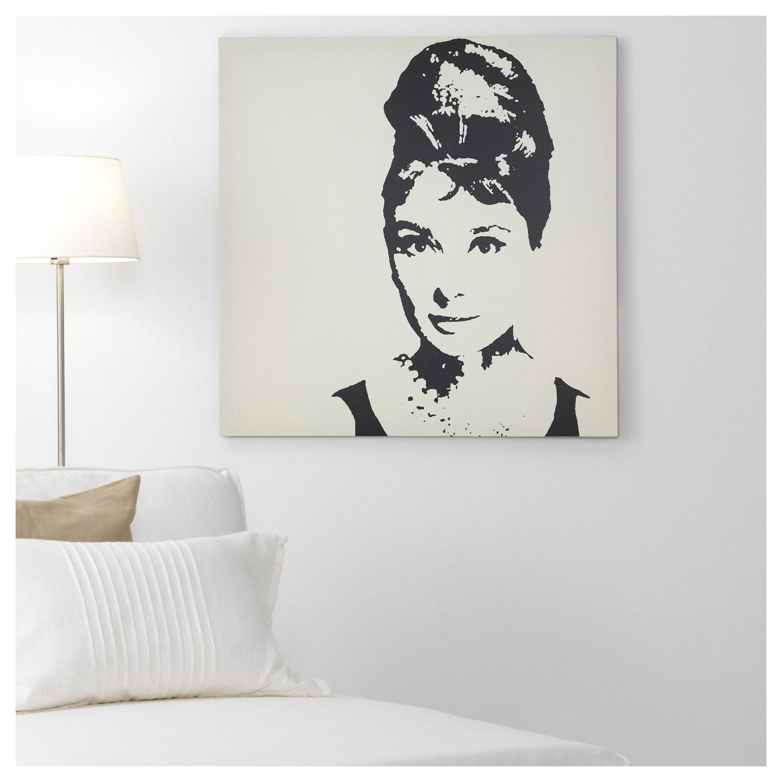 Ikea  Pjätteryd Picture Audrey Hepburn In 2019  لباس  Ikea von Audrey Hepburn Bild Ikea Bild