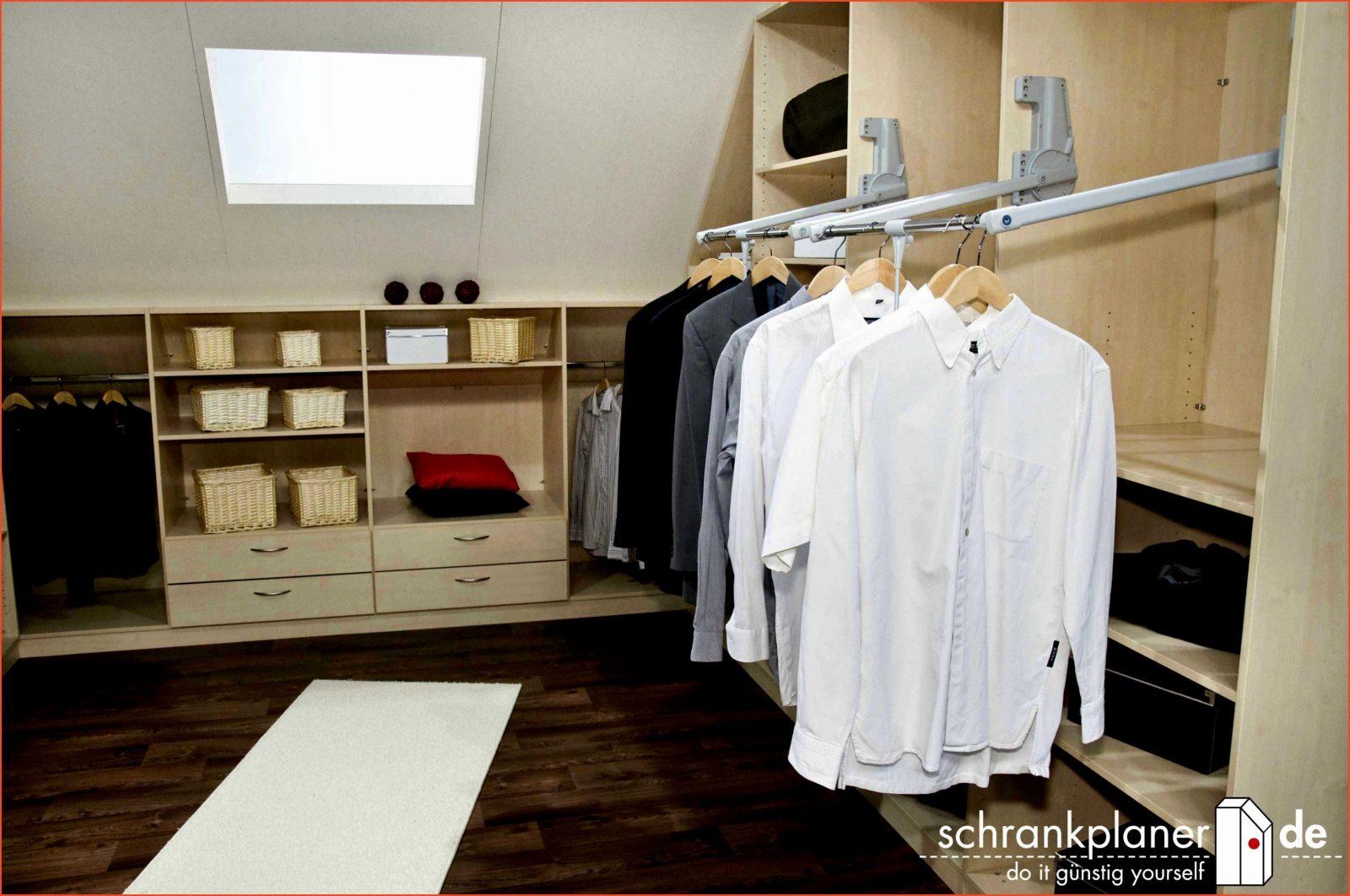Ikea Schrank Zusammenstellen Brillant Begehbarer Kleiderschrank von Ikea Schrank Selber Planen Bild