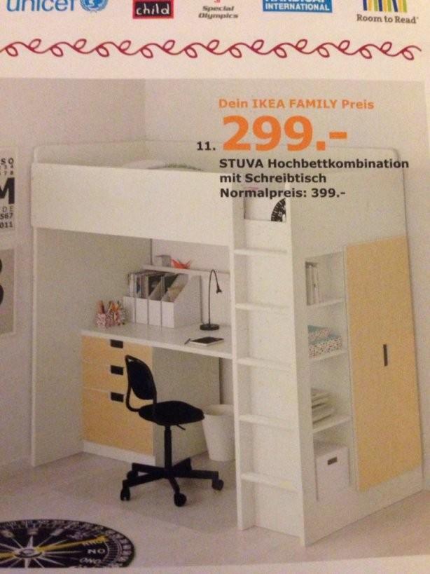 Ikea] Stuva Hochbett Mit Schreibtisch Schubladen Schrank  Mydealz von Ikea Hochbett Mit Schreibtisch Und Schrank Photo