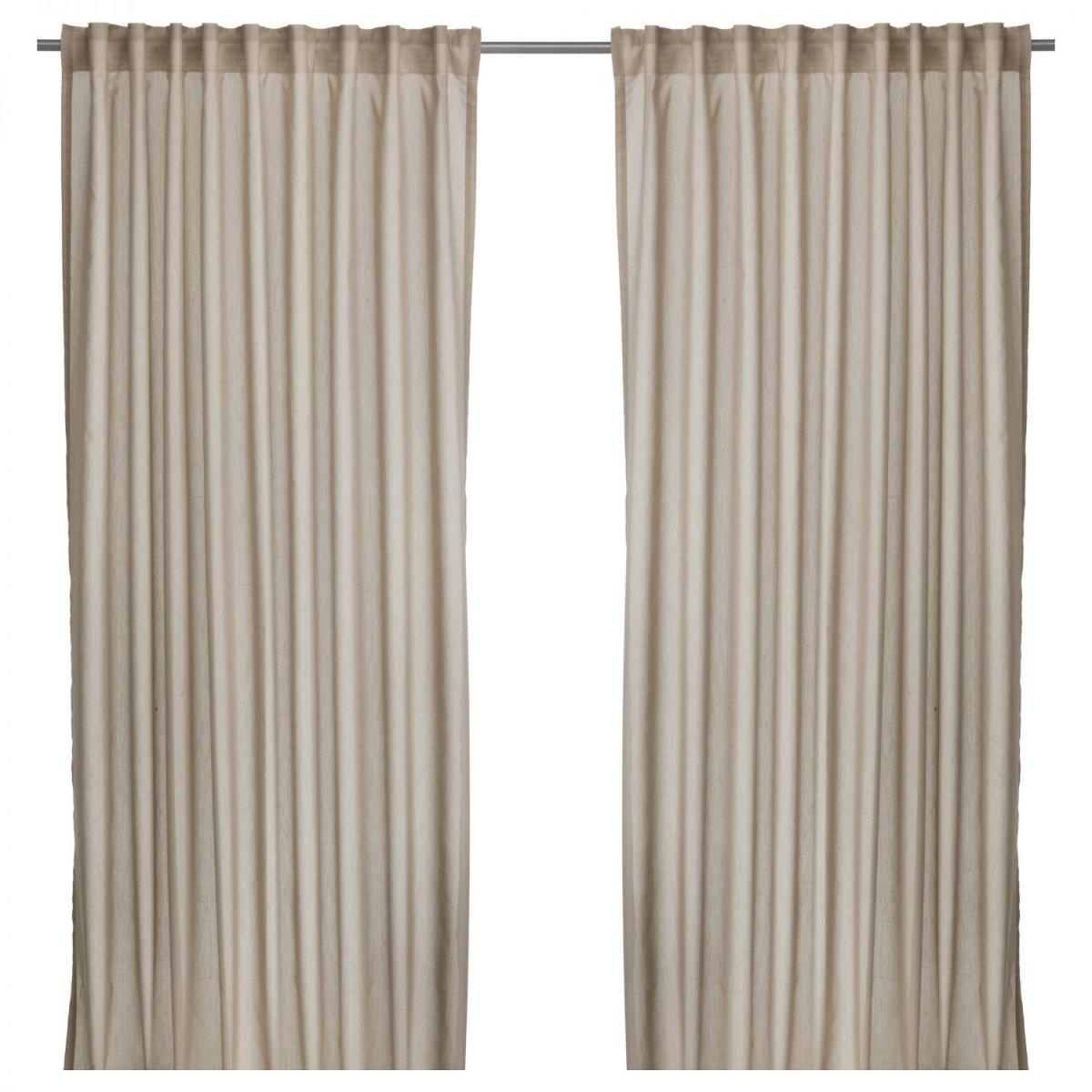 Ikea Vivan 2X Gardinenschal Vorhangset Vorhänge 300 Cm X 145 Cm von Vorhänge 300 Cm Lang Bild