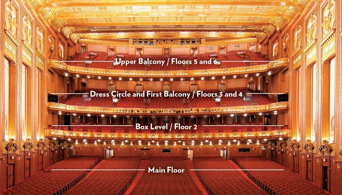 Image Result For Lyric Theater Nyc Seating Chart  Harry Potter von Lyric Opera Seating Chart Photo