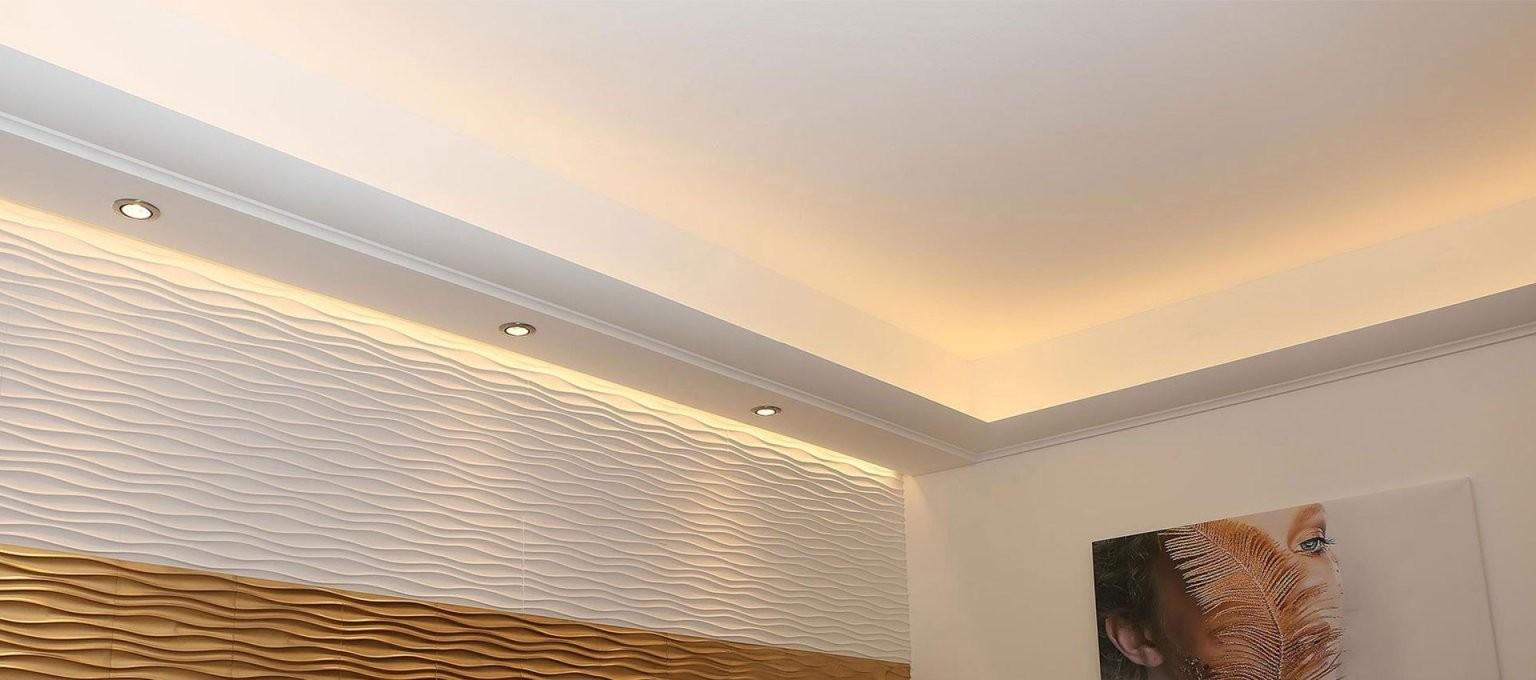 Indirekte Beleuchtung Und Fassadengestaltung – Ihr Experte  Bendu von Stuck Mit Indirekter Beleuchtung Photo