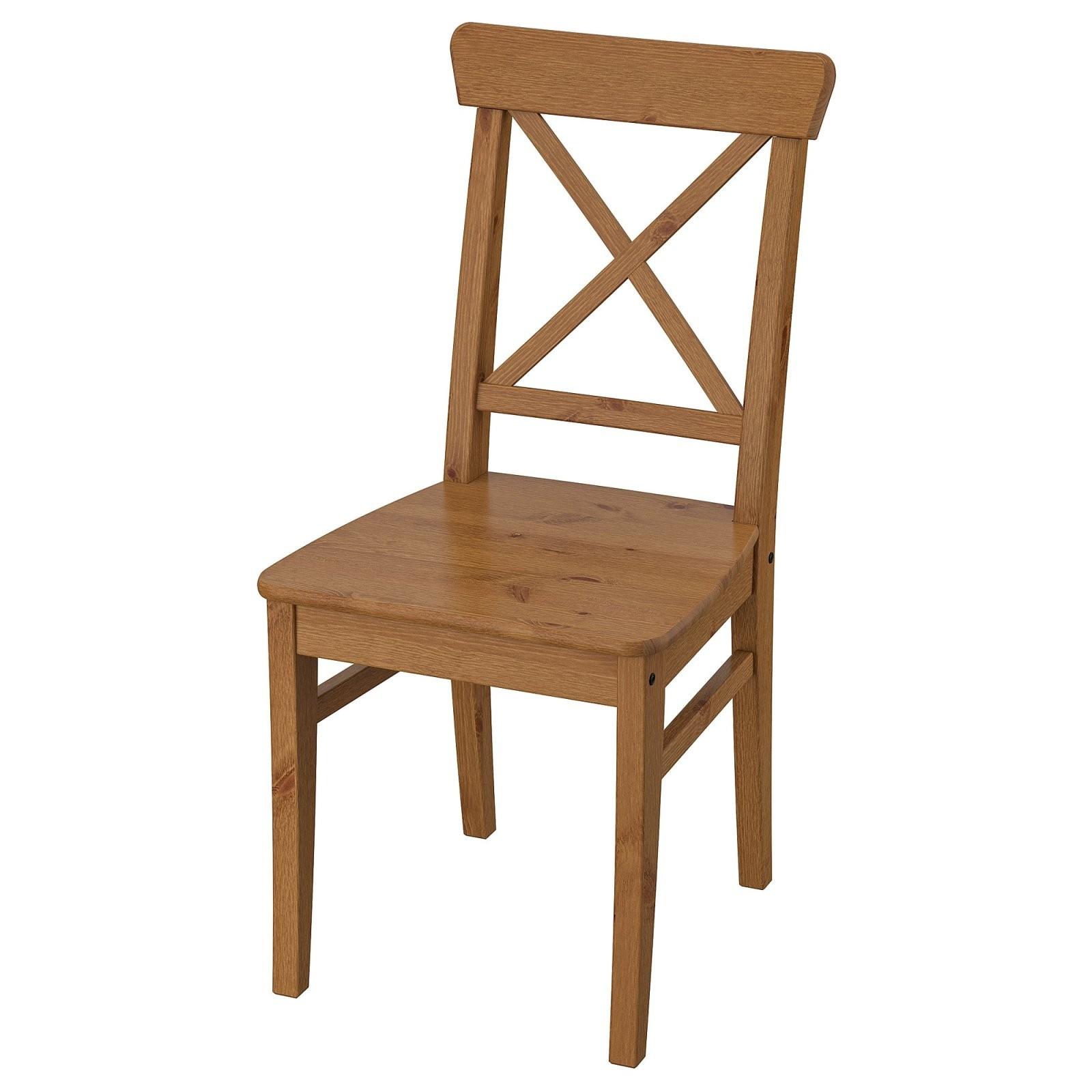 Ingolf Stuhl  Antikbeize  Ikea von Ikea Stühle Mit Armlehne Bild