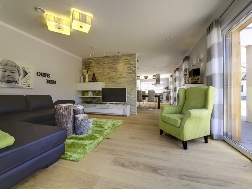 Inspirierend Offene Küche Wohnzimmer Trennen Ideen 1220 von Offene Küche Wohnzimmer Abtrennen Photo