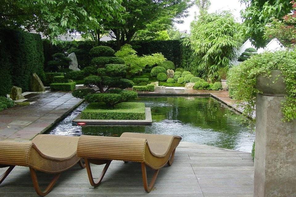 Japangartenkultur Plant Und Gestaltet Japanische Gärten Und von Japanische Deko Für Garten Photo