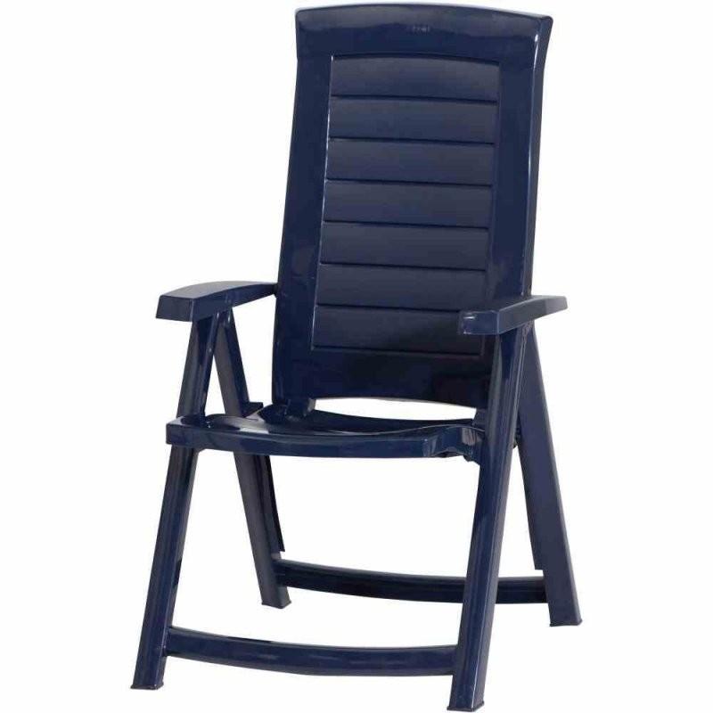 Jardin Aruba Klappsessel Blau Ab 3016 € Im Preisvergleich Kaufen von Gartenstuhl Hochlehner Kunststoff Blau Bild