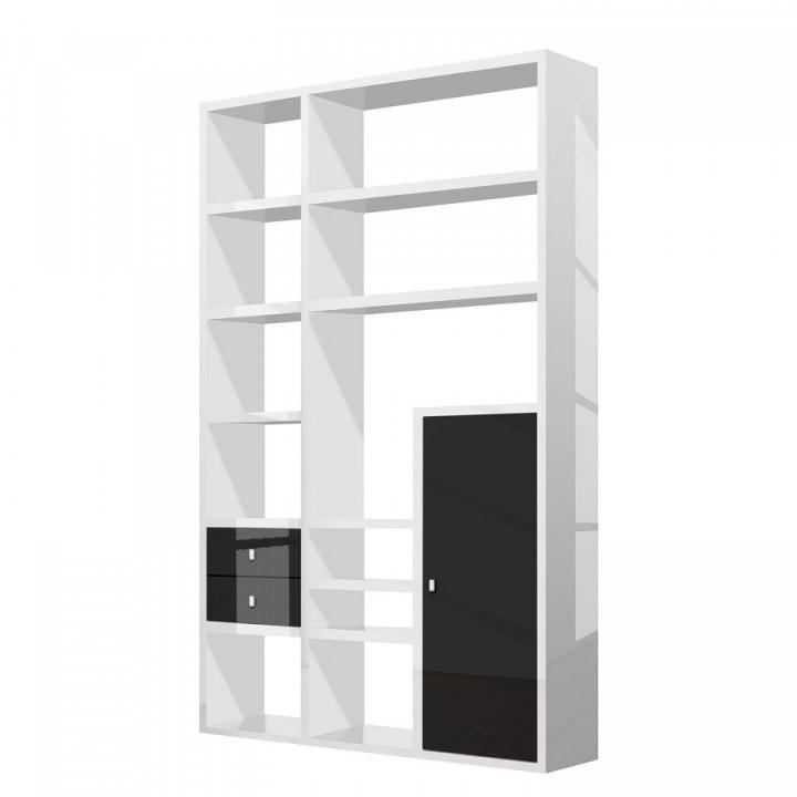 Jetzt Bei Home24 Raumteiler Von Loftscape  Home24At von Regal Mit Türen Weiß Hochglanz Bild