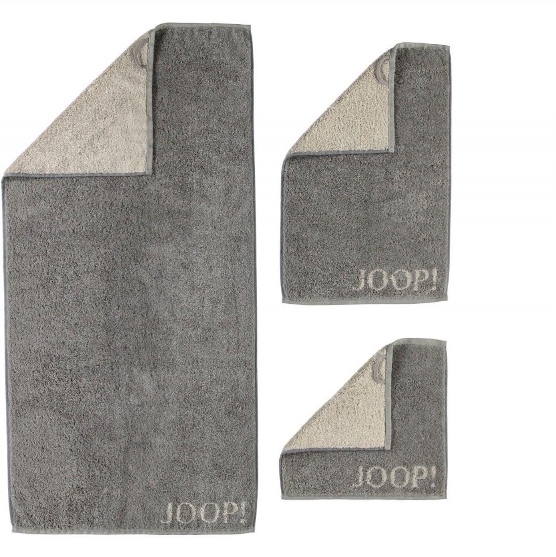 Joop Handtuch Handtücher 50X100 Classic Doubleface 160070 Graphit von Joop Handtücher Set Günstig Photo