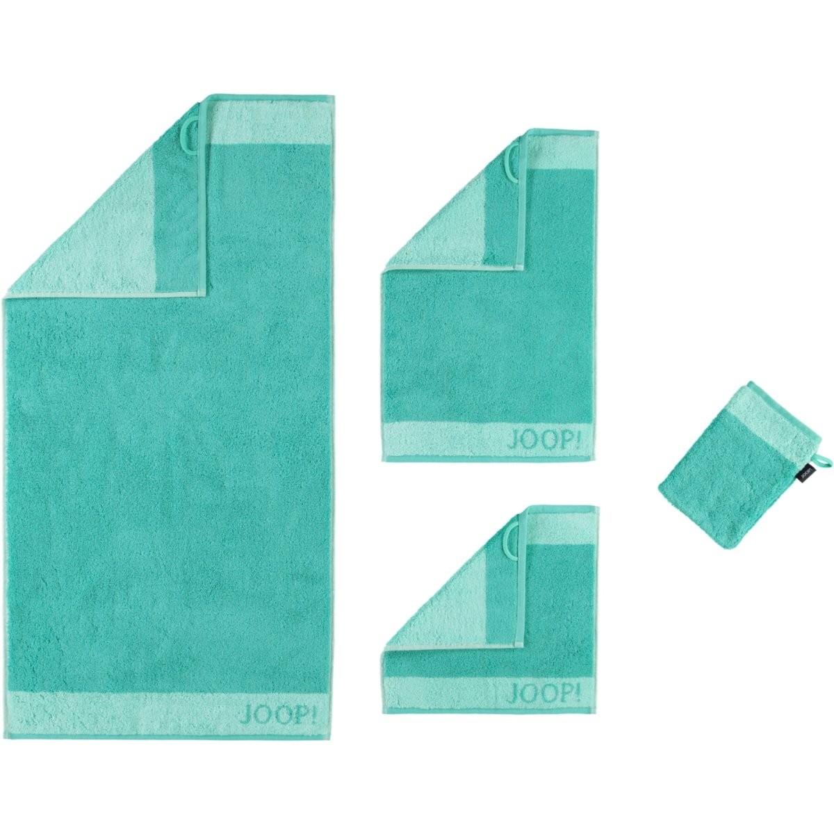 Joop Handtücher Vivid Doubleface 1661 Jade  44  Bademantelwelt von Joop Handtücher Set Günstig Photo