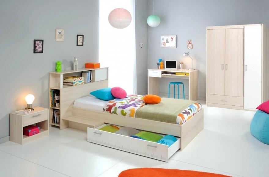 Jugendzimmer Chiron 10 Akazie Nb Bett Regal Nako Schreibtisch von Bett Mit Schreibtisch Und Schrank Bild