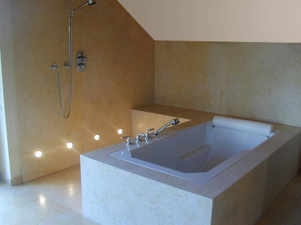 Kalkstein Fliesen Platten Mosaik Mauer Kalksteinfliesen von Mosaik Fliesen Dusche Reinigen Bild