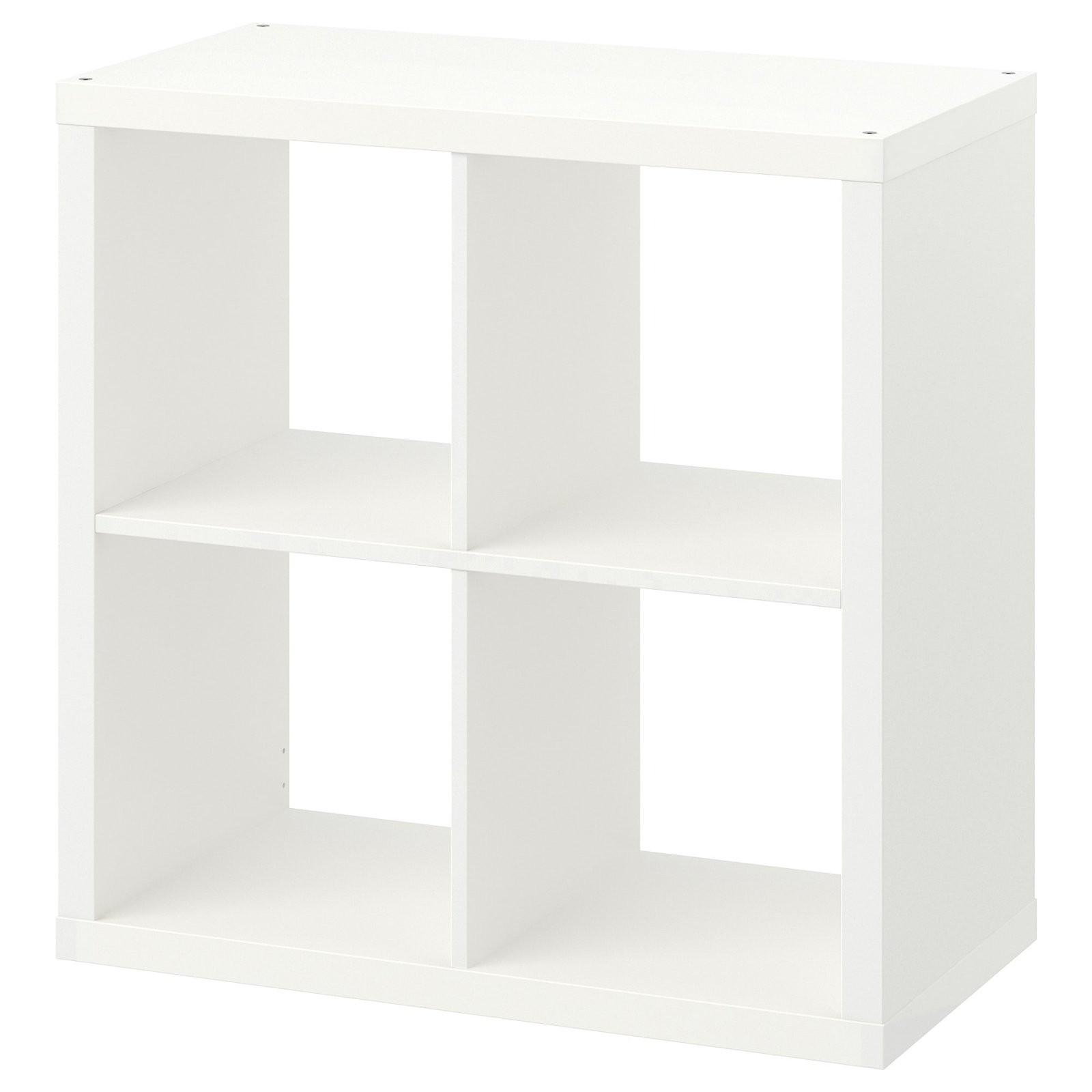 Kallax Regal  Weiß  Ikea von Ikea Regal Kallax Gebraucht Bild