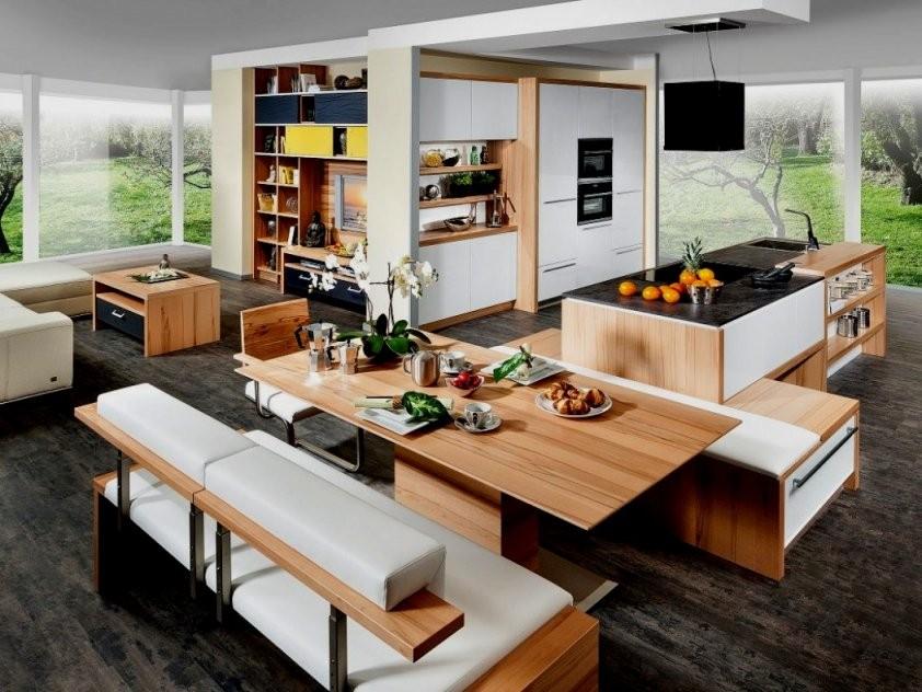 Kcke Mit Insel Und Esstisch Design Küche Kochinsel Integriertem von Kochinsel Mit Integriertem Esstisch Photo