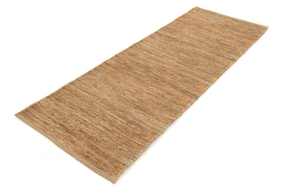 Kelim Jute Läufer 00014682Beige  Carpetfine von Teppich Läufer 80 X 200 Bild