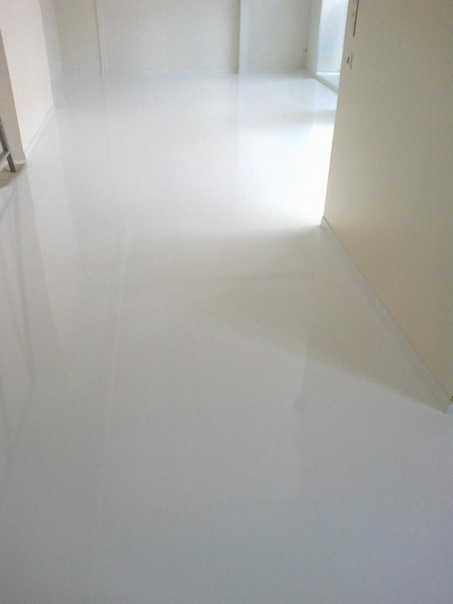 Keller Bodenbeläge Ag  Parkett Kork Teppich Linoleum Novilon von Pvc Boden Weiß Hochglanz Photo