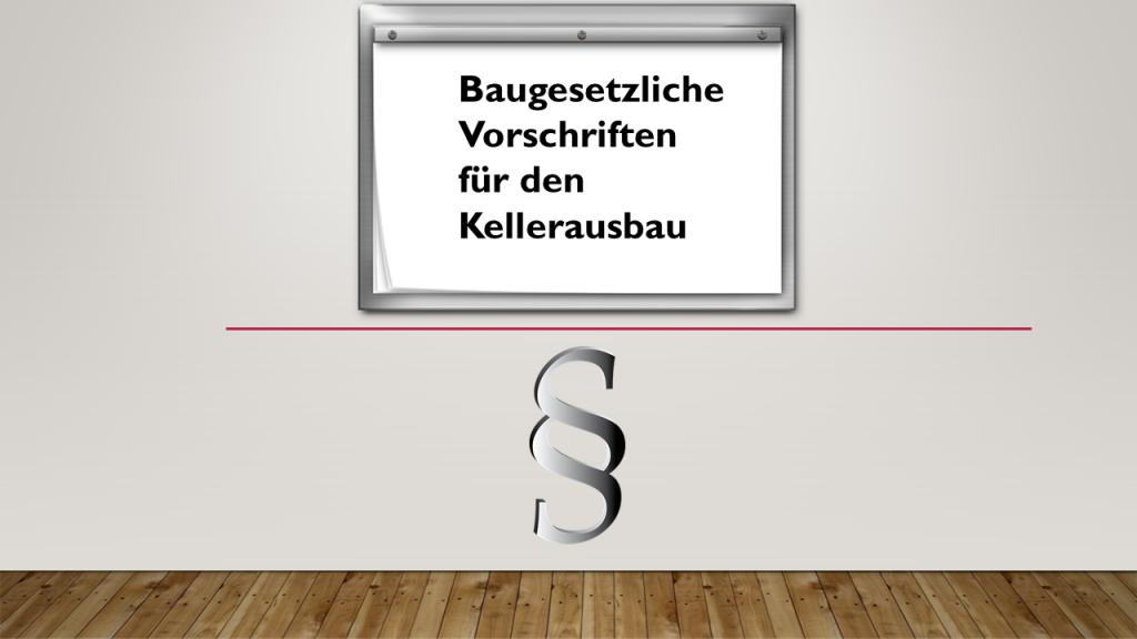 Keller Zum Wohnraum Ausbauen – Ist Das Gestattet von Keller Als Wohnraum Genehmigung Photo
