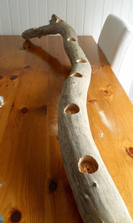 Kerzenhalter Basteln  35 Beispiele Dass Kerzenhalter Nicht Nur von Holz Kerzenständer Selber Machen Photo