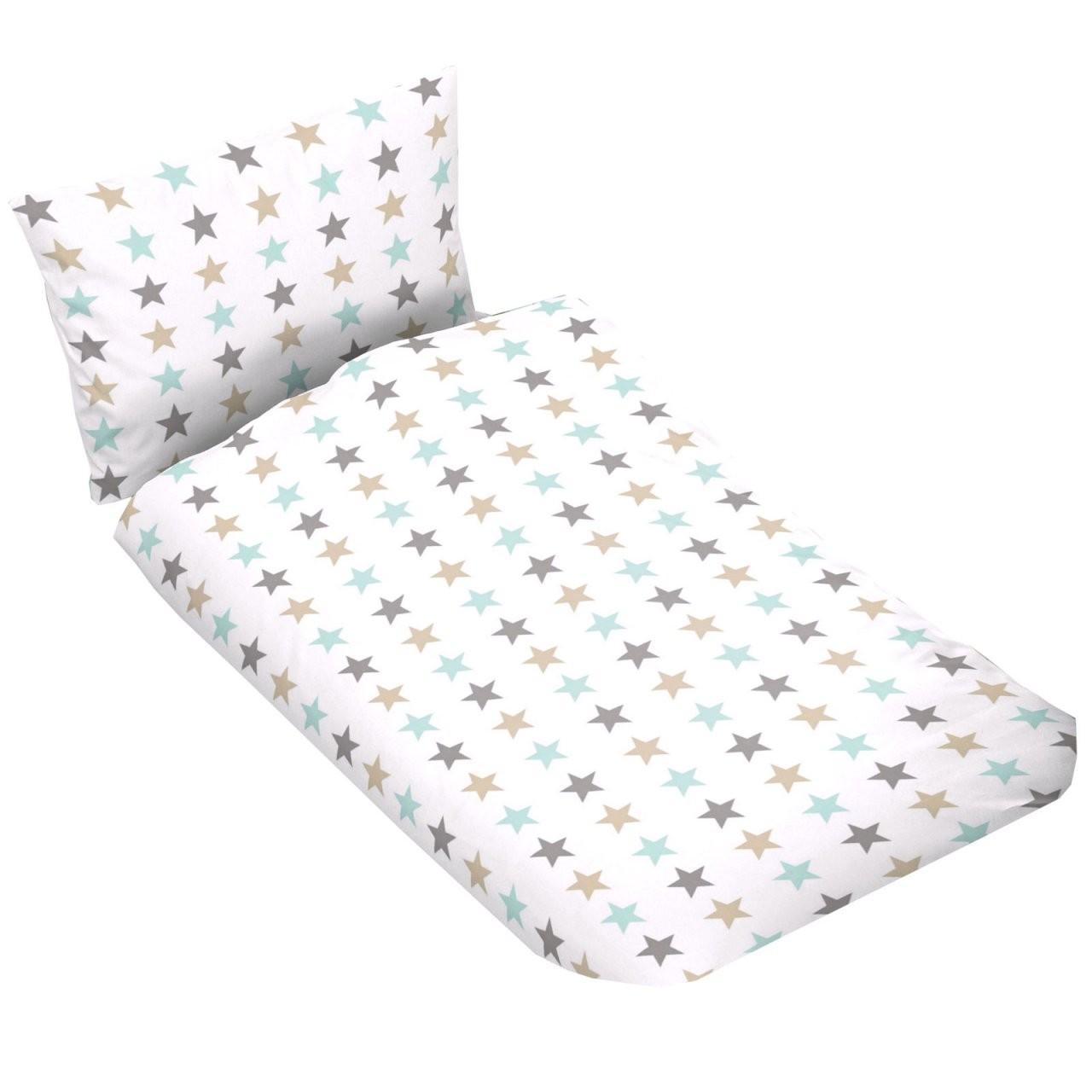 Kinder Bettwäsche 100X135 Cm Weiß Sterne von Bettwäsche 100X135 Sterne Bild