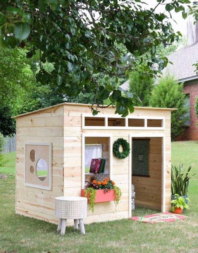 Kinder Holzhaus Selber Bauen Luxus 45 Luxus Spielhaus Kinder Garten von Kinder Holzhaus Selber Bauen Bild