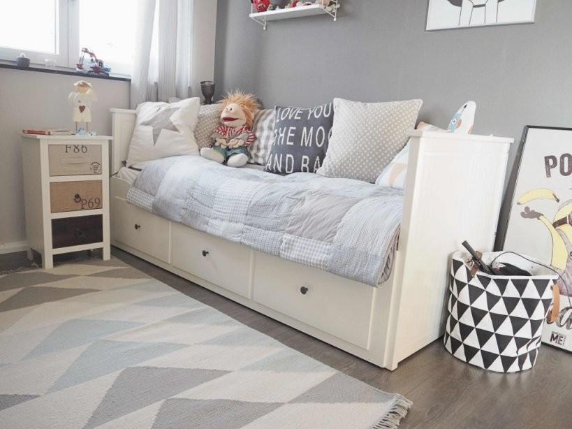 Kinder Räume Düsseldorf  Zu Besuch Auf Luca's Roomtour von Ikea Hemnes Bett Ausziehbar Bild
