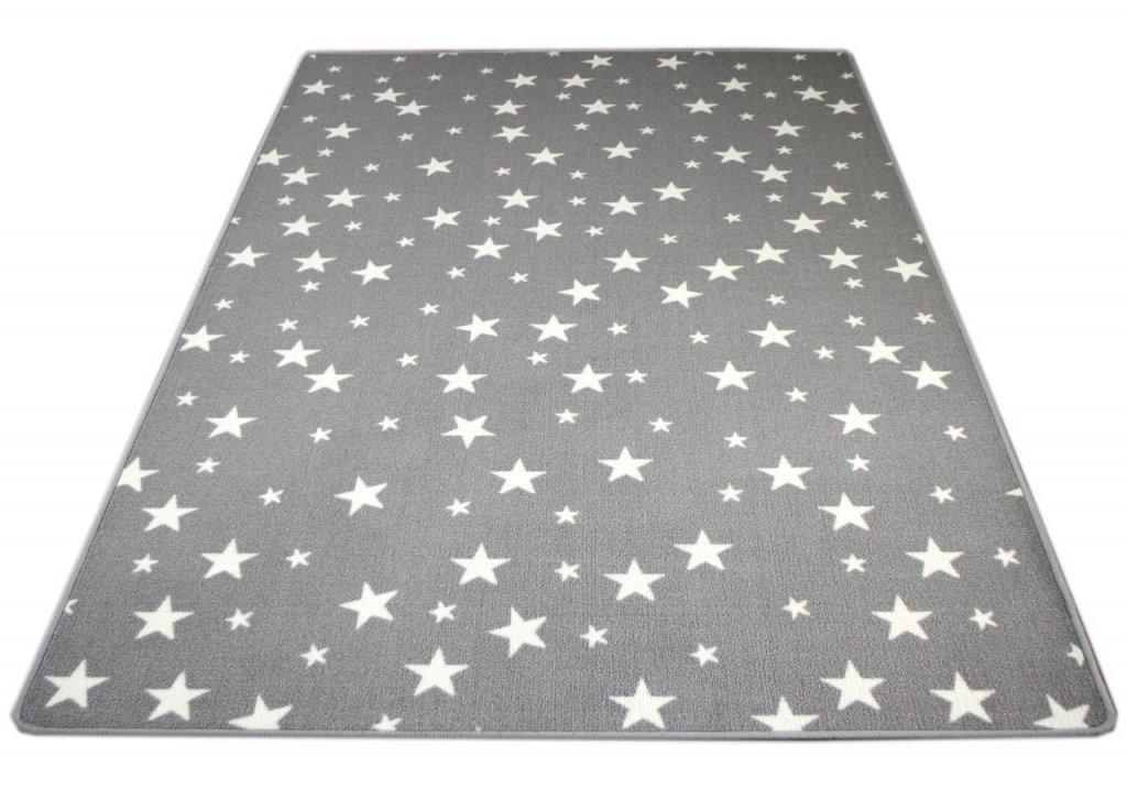 Kinder Spiel Teppich Sterne Grau Teppiche Kinder Und Spielteppiche von Teppich Mit Sternen Grau Bild
