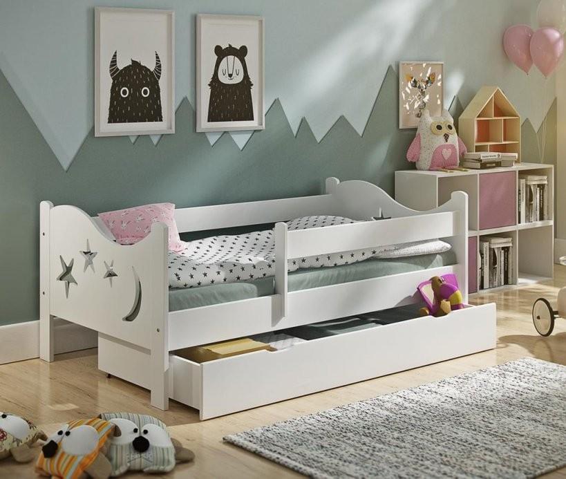 Kinderbett Chrisi 160X80Cm Incl Schublade +  Real von Kinderbett Weiss Mit Schublade Bild