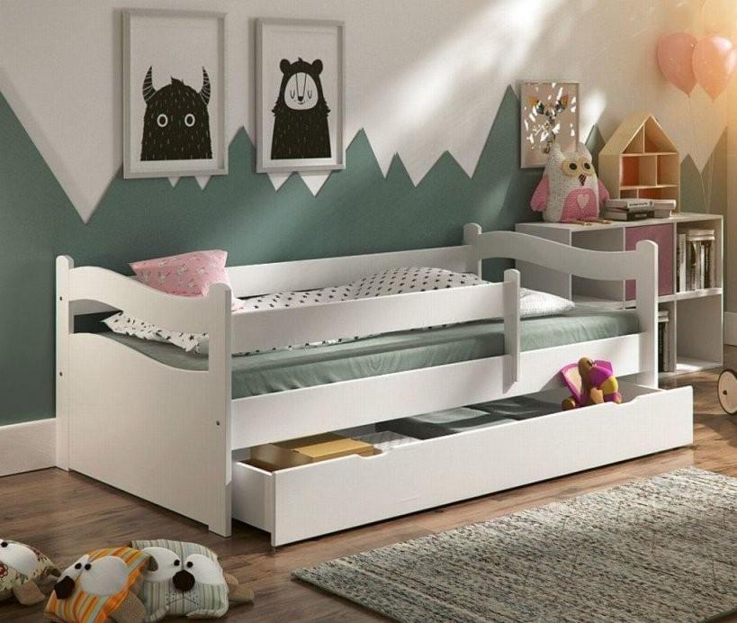 Kinderbett Jugendbett Kinderzimmer Abby 160X80Cm +  Real von Kinderbett Weiss Mit Schublade Bild