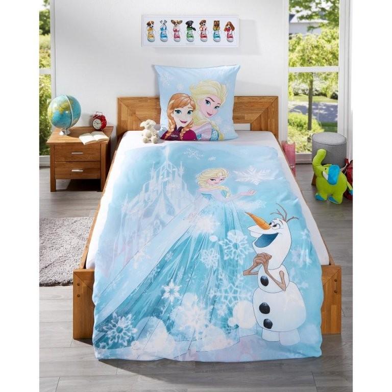 Kinderbettwäsche Eiskönigin (135X200)  Dänisches Bettenlager von Bettwäsche Eiskönigin Dänisches Bettenlager Bild