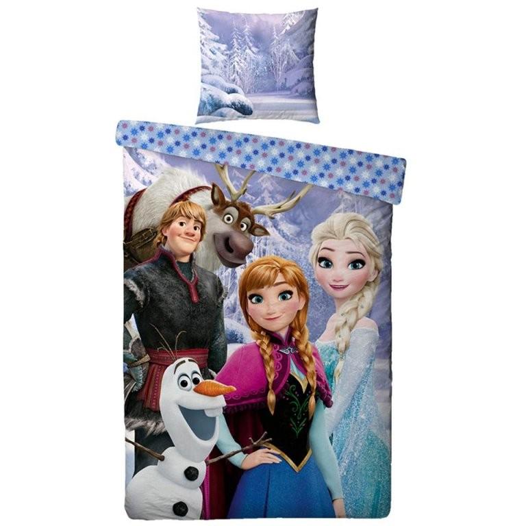Kinderbettwäsche Frozen (Die Eiskönigin 140X200 Microfleece von Bettwäsche Eiskönigin Dänisches Bettenlager Photo