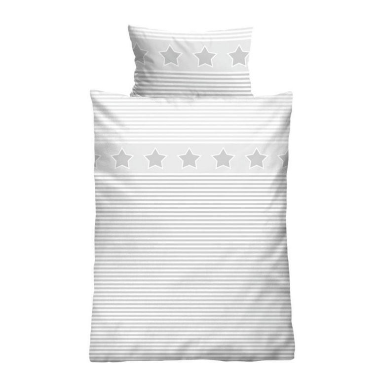 Kinderbettwäsche Sterne (100X135)  Dänisches Bettenlager von Bettwäsche 100X135 Sterne Photo