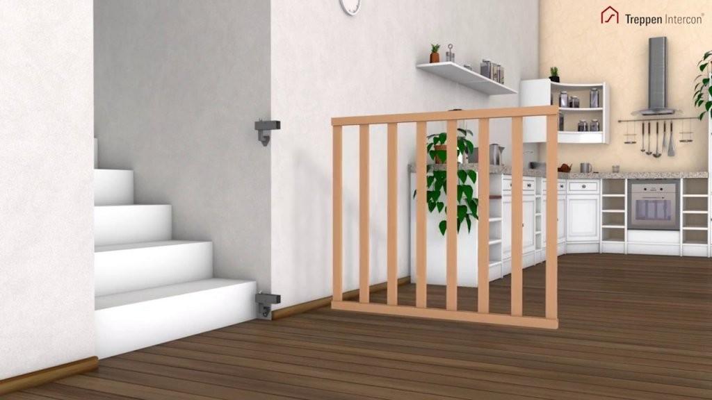 Kinderschutzgitter Treppenschutzgitter Jan Selbst Einbauen von Kindersicherung Treppe Selber Bauen Bild