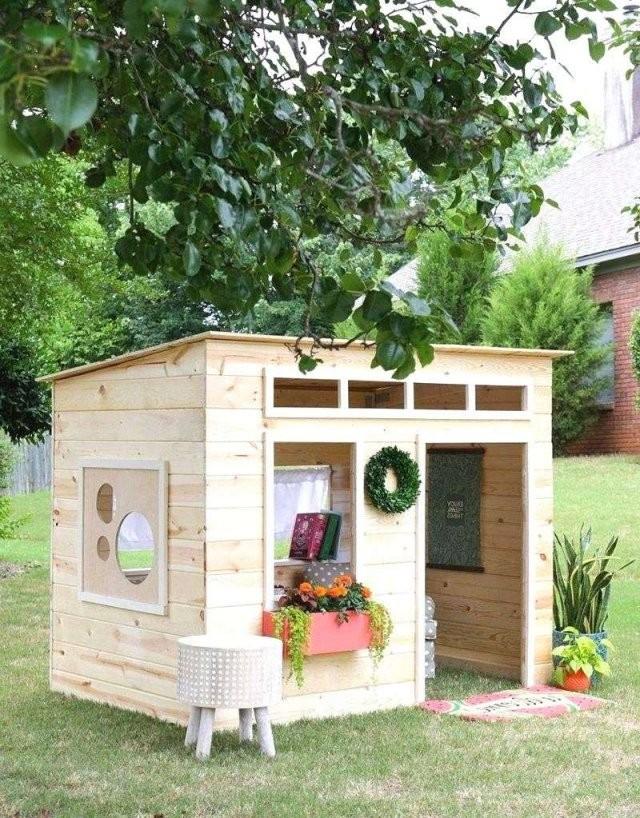 Kinderspielhaus Garten Holz Inspirierend Fantastisch 42 Spielhaus von Holz Spielhaus Selber Bauen Bild