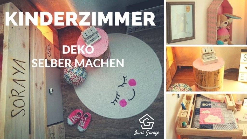 Kinderzimmer Deko Selber Machen  Diy Ideen  Einrichten von Deko Ideen Babyzimmer Selber Machen Photo