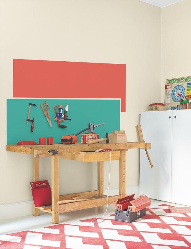 Kinderzimmer Für Schulkinder Ab Sechs Jahren Gestalten von Kleines Kinderzimmer Mit Dachschräge Bild