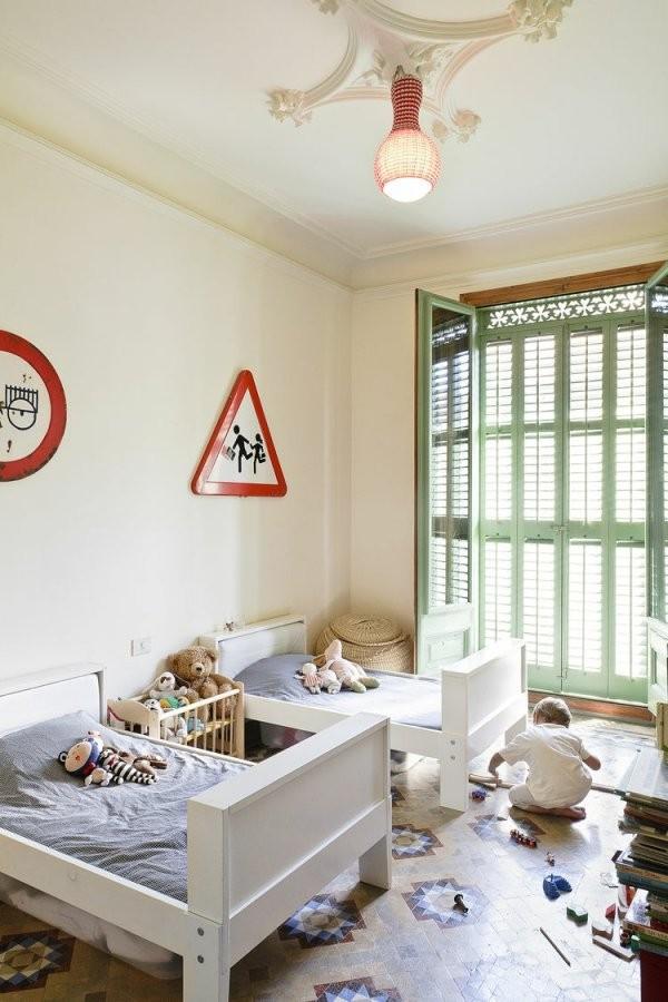 Kinderzimmer Für Zwei Gestalten  15 Interessante Einrichtungsideen von Kleines Kinderzimmer Für Zwei Einrichten Bild