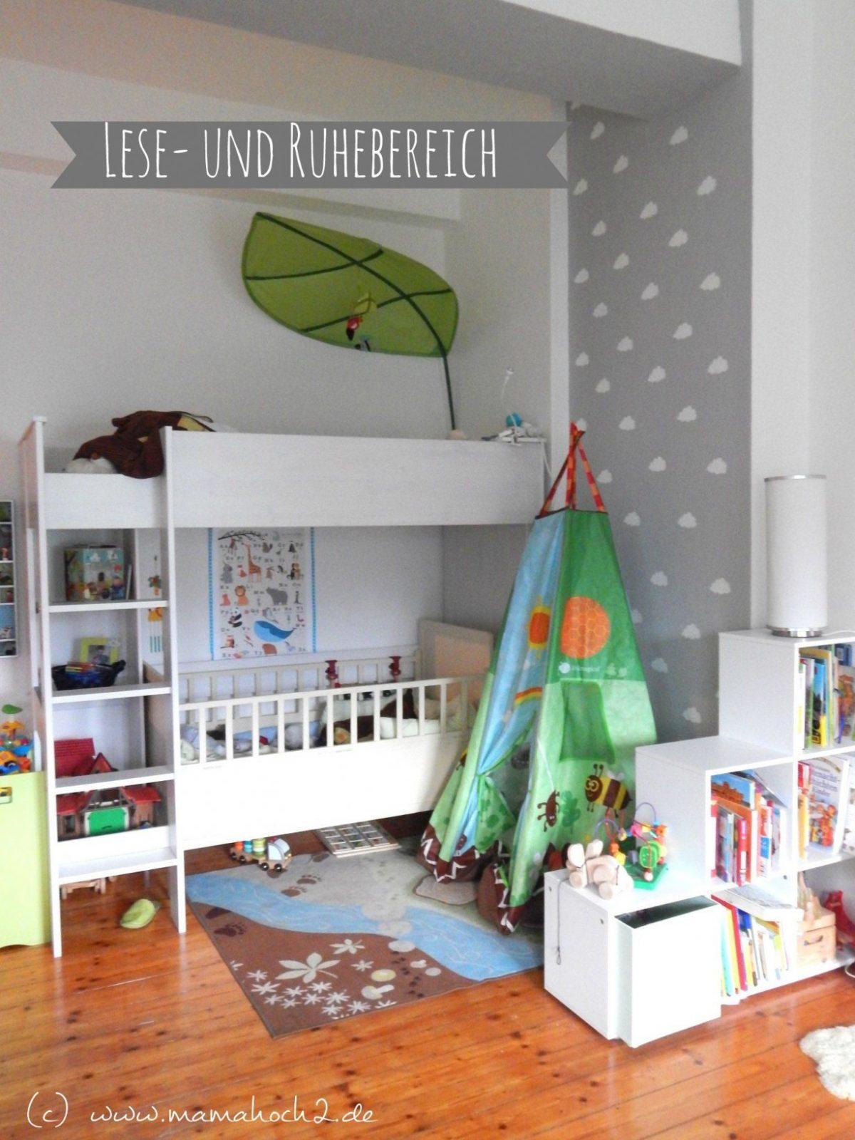 Kinderzimmer Für Zwei Lausebengel  Kinderzimmerideen  Interior von Kleines Kinderzimmer Für Zwei Einrichten Bild