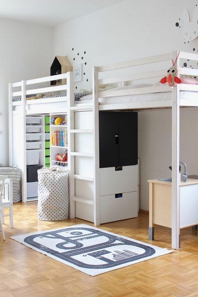 Kinderzimmerneu4  Zimmer Gestaltung 2  Hochbetten Kinderzimmer von Kleines Kinderzimmer Für 2 Photo