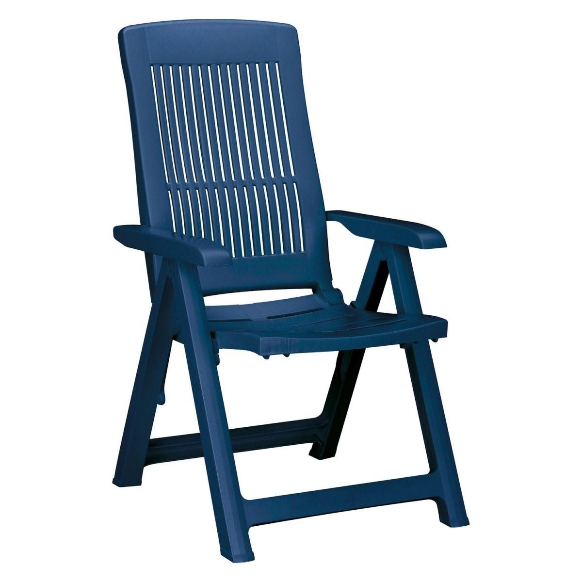 Klappsessel Santiago Blau Kaufen Bei Obi von Gartenstuhl Hochlehner Kunststoff Blau Bild