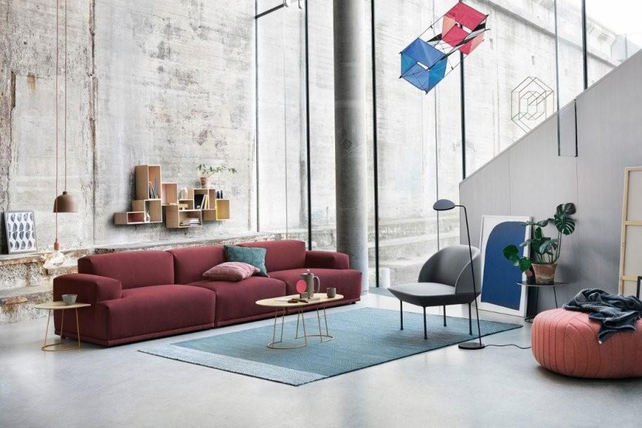 Klare Linien Und Coole Farben Machen Das Moderne Wohnzimmer Aus von Säule Im Wohnzimmer Gestalten Photo