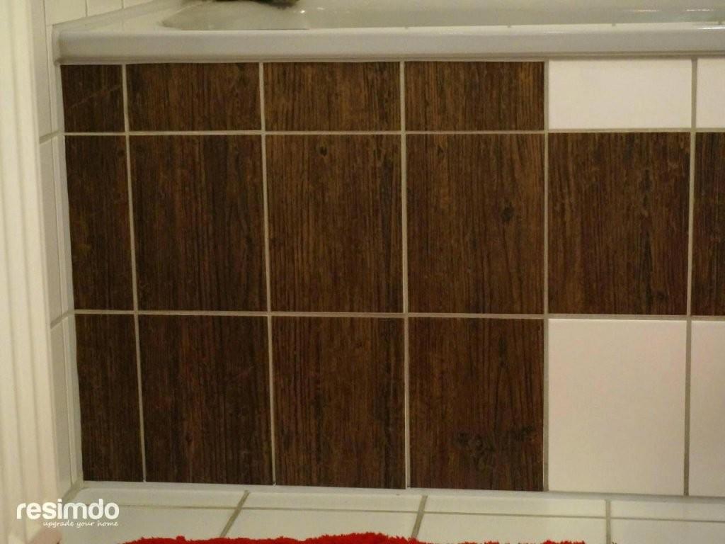 Klebefolie Fur Badezimmer Fliesen von Selbstklebende Folie Fliesen Überkleben Bild