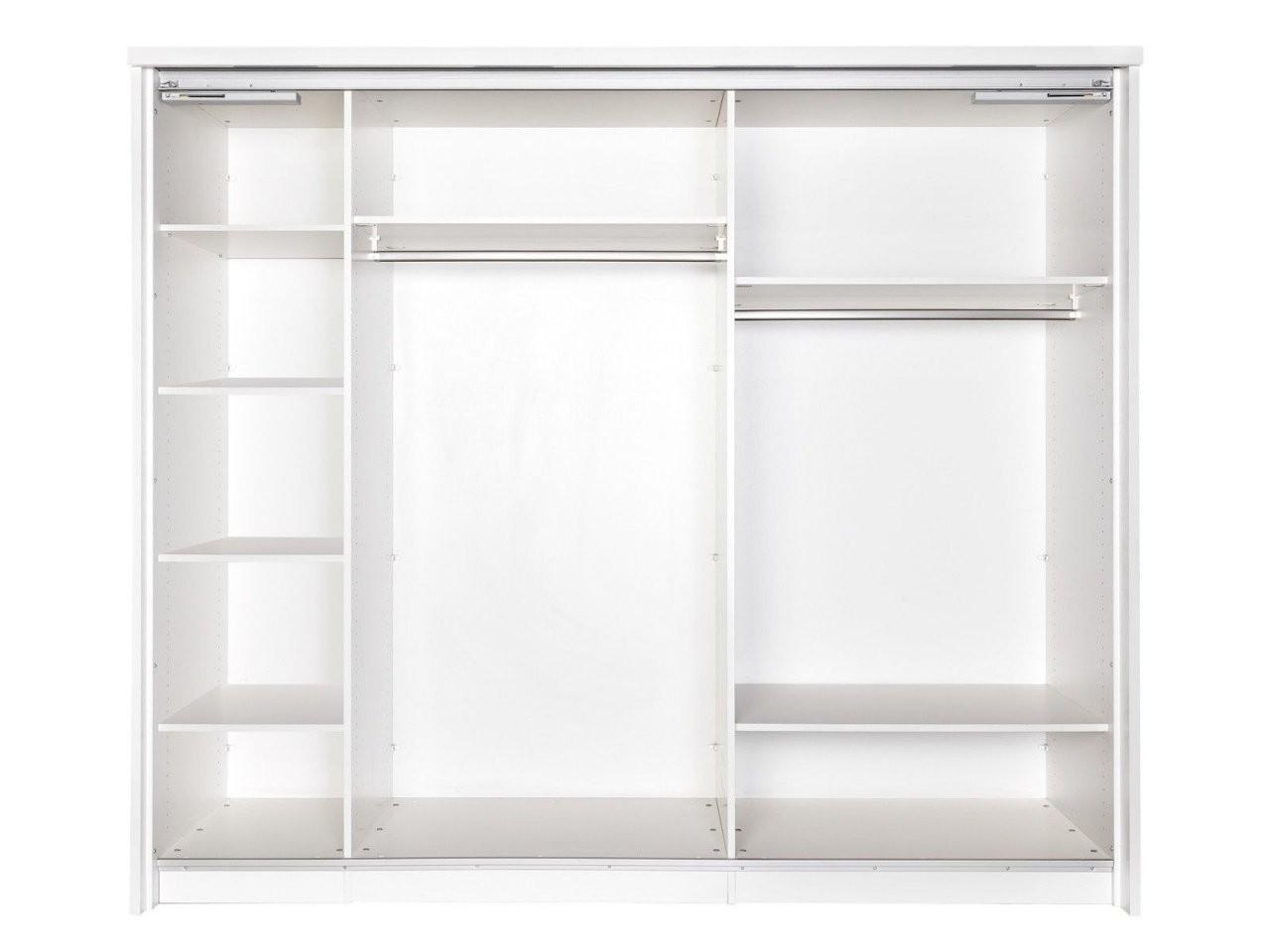 Kleiderschrank 40 Cm Tiefe Mit Schiebetür Schiebetüren Schrank Ohne von Kleiderschränke 50 Cm Tief Bild