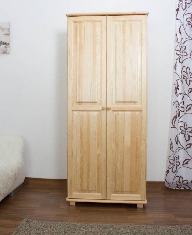 Kleiderschrank Breite 80 Cm Farbe Natur Türen 2 Höhe (Cm) 190 von Kleiderschrank Breite 80 Cm Bild