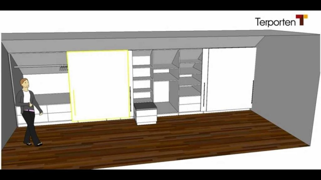 Kleiderschrank In Einer Dachschräge Terporten Tischler Schreiner von Kleiderschrank Selber Bauen Dachschräge Photo