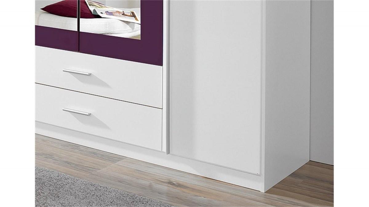 Kleiderschrank Krefeld Weiß Und Lila Mit Spiegel 181 Cm von Kleiderschrank Weiß Lila Mit Spiegel Photo