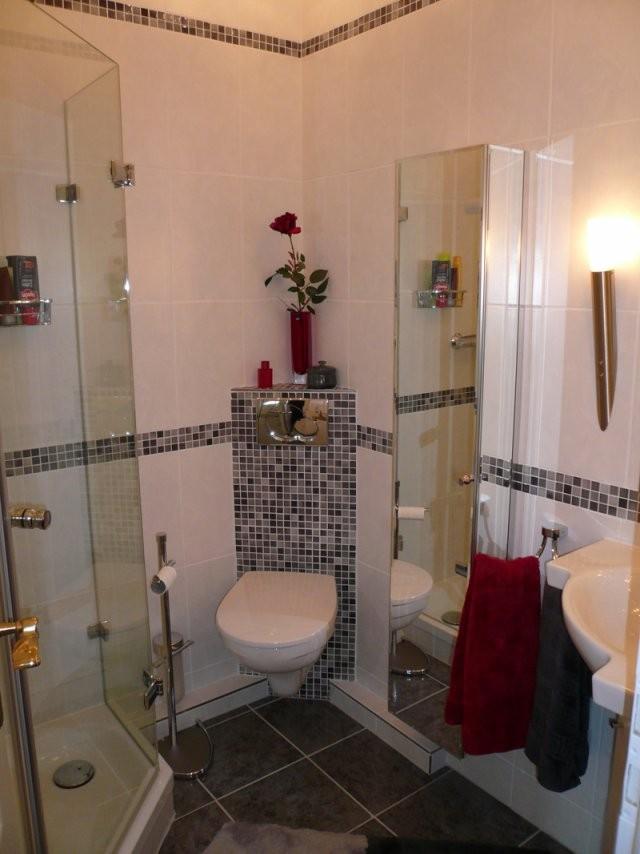 Kleine Bäder Gestalten ▷ Tipps  Tricks Für's Kleine Bad  Bauen von Badezimmer Auf Kleinem Raum Bild