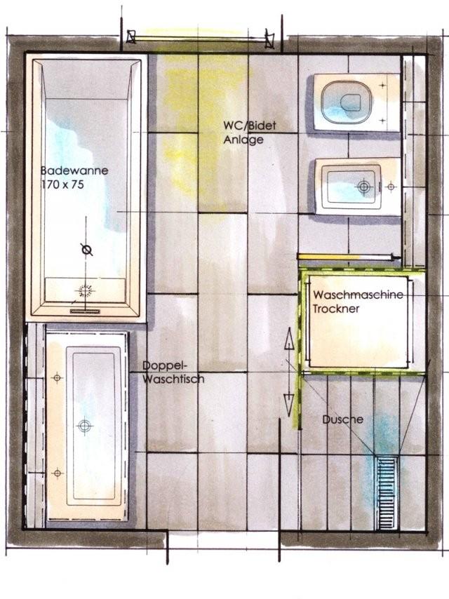 Kleine Bäder Gestalten ▷ Tipps  Tricks Für's Kleine Bad  Bauen von Grundriss Badezimmer 10 Qm Photo