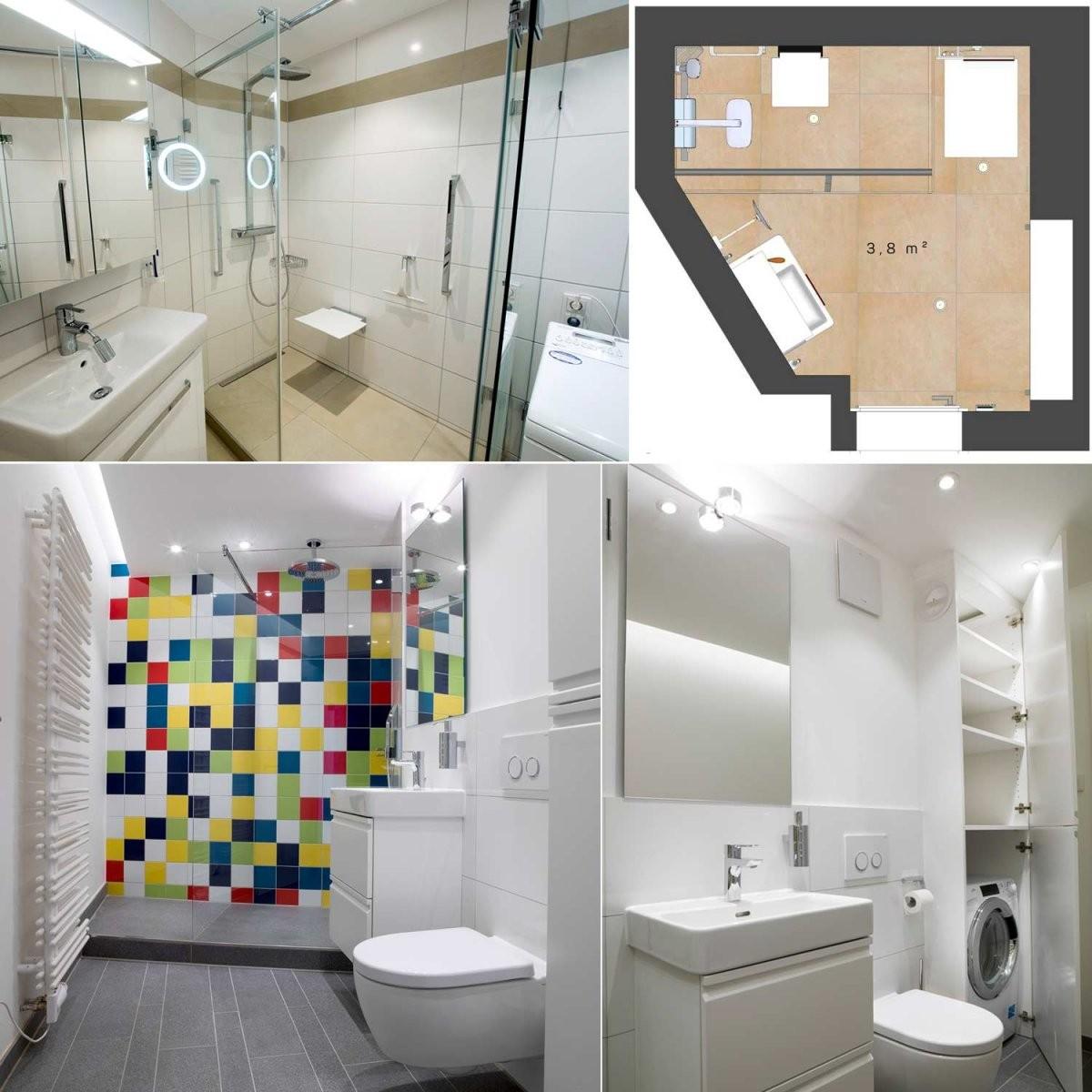 Kleine Badezimmer ▣ Profitipps  Ideen Von Heimwohl von Kleine Bäder Gestalten Beispiele Bild