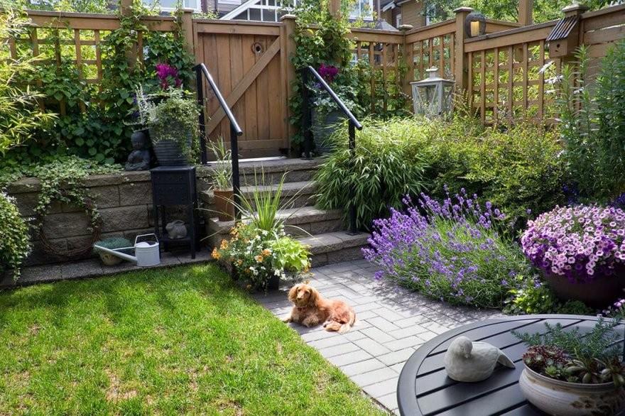 Kleine Gärten Gestalten  25 Bilder Ideen  Praktische Beispiele von Kleine Gärten Gestalten Praktische Lösungen Photo