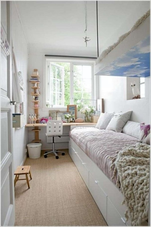 Kleine Kinderzimmer 13 Kreative Einrichtungsideen  Ideen Für von 13 Qm Zimmer Einrichten Bild