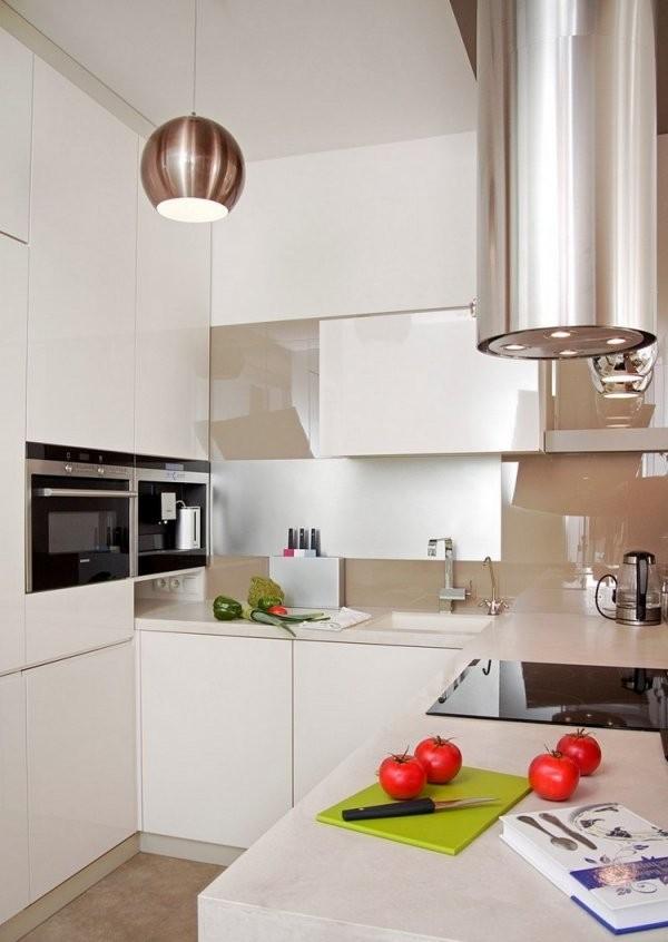 Kleine Küche Einrichten  Tipps Für Raumverteilung von Kleine Schmale Küche Einrichten Photo